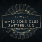 Swiss James Bond Club celebrates their 25 year anniversary with star studded video and event