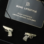 Bond Lifestyle 10 Year Anniversary Limited Edition Cufflinks