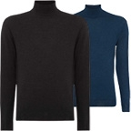 npeal fine gauge mock turtle neck